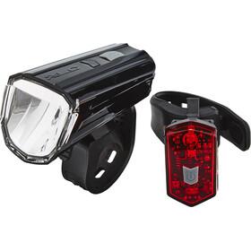 XLC Comp Alderaan Zestaw oświetlenia czerwony/czarny
